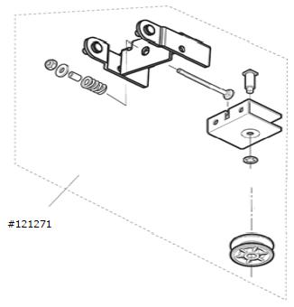 Umlenkung / Antriebsschiene Comfort 211 / 2xx.2