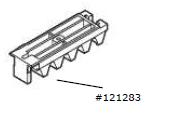 Zahnstangensegment M6 (5er-Set)