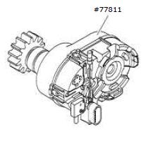 Getriebebox, komplett Comfort 870