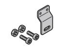 Set: Schaltfahne für Torverriegelung mit vertikalem Drehriegel