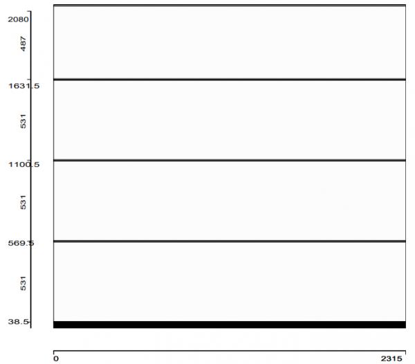 Garagen-Sektionaltor RenoMatic L-Sicke Oberfläche Planar
