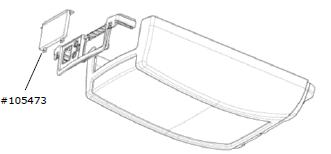 Abdeckplatte C.2xx, neutral