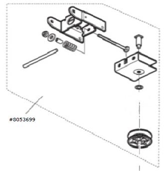 Umlenkung / Antriebsschiene Comfort 220 / 250 / 252