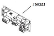 Anschlussplatine Comfort 257.2