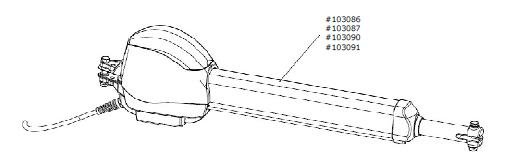 Motor-Aggregat C.525 / C.525 L für Steuerung Control x.52