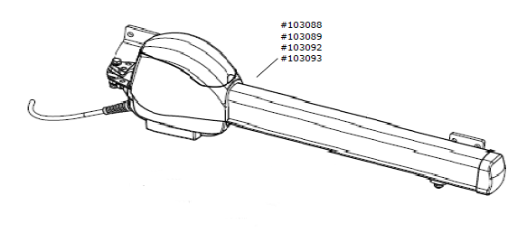 Motor-Aggregat C.530 / C.530 L für Steuerung Control x.51